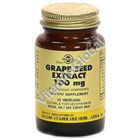 "Grape Seeds Extract 100 mg 30 caps ""Solgar\"""
