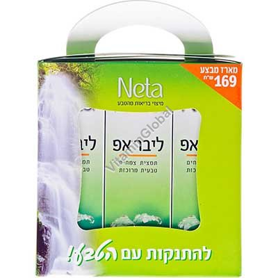 Liver Up Kosher Herbal Extract 150ml (3X50ml) - Neta