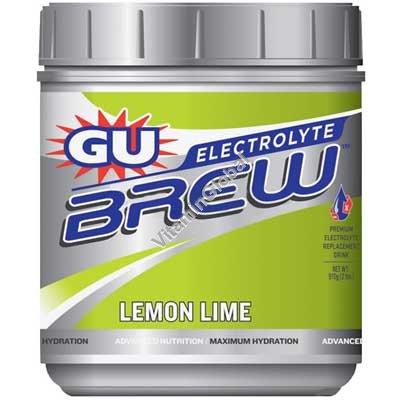 Premium Electrolyte Brew Lemon Lime 910g (2 lbs) - GU