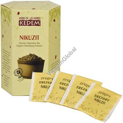 Nikuzit Detox Tea 25 tea bags - Herbs of Kedem