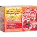 Emergen-C Vitamin C 1000 mg Cranberry & Pomegranate 30 packets - Alacer