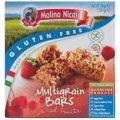 Gluten Free Multigrain Bars with Red Fruits 129g 6-Count Bars - Molino Nicoli