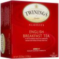 Classics English Breakfast Tea 50 tea bags - Twinings