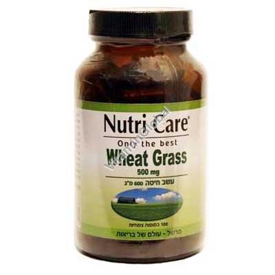 Wheat Grass 500 mg 100 caps - Nutri Care