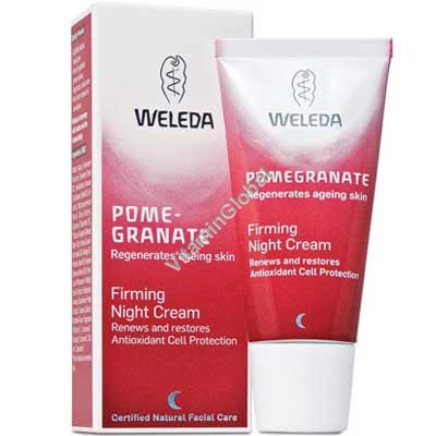 Pomegranate Firming Night Cream 30ml - Weleda