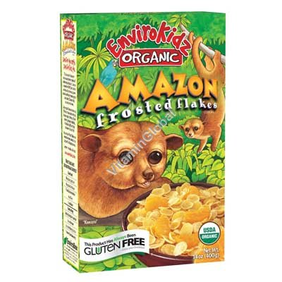 """""""Amazon"""" Organic Frosted Flakes Cereal 400g - Nature\'s Path"""