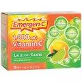 Emergen-C Vitamin C 1000 mg Lemon-Lime 30 packets - Alacer
