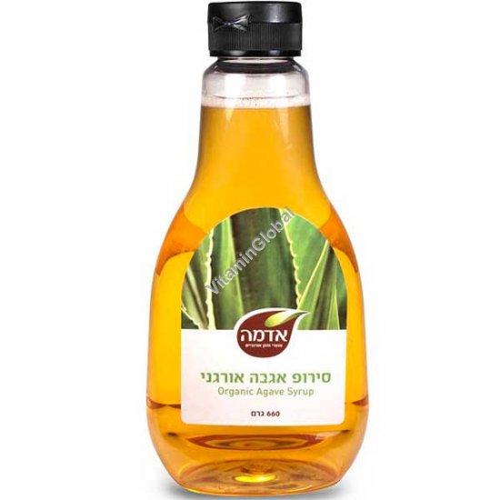Organic Agave Syrup 660g - Adama