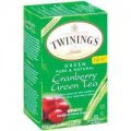 Green Tea & Cranberry 25 tea bags - Twinings