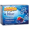 Emergen-C Vitamin C 1000 mg Triple Berry 30 packets - Alacer