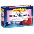 Emergen-C Vitamin C 1000mg Raspberry 30 packets - Alacer