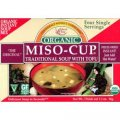 Organic Instant Miso Soup 4 single servings - Edward & Sons