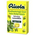 Sugar Free Lemon Mint Lozenges 50g - Ricola