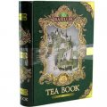 Gift Tea Book - Pure Ceylon Leafy Green Tea with Strawberry, Cranberry and Flavours Melon 100g - Basilur