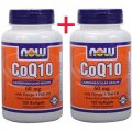 Coenzyme Q10 with Omega-3 Fish Oil 60 mg 240 (120+120) softgels - NOW Foods