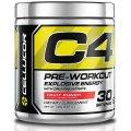 Pre-Workout C4, Fruit Punch 6.87 oz (195 g) - Cellucor