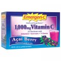 Emergen-C Vitamin C 1000 mg Acai Berry 30 packets - Alacer