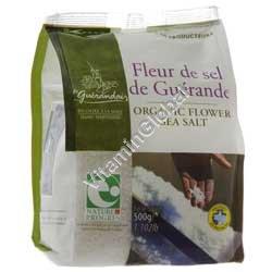 Organic Coarse Grey Sea Salt 1kg (2.204lb) - Guerande