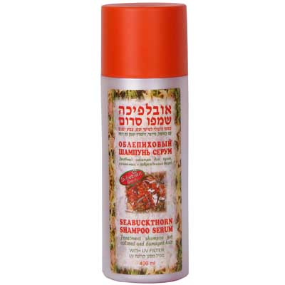 Sea-Buckthorn Shampoo Serum for colored and damaged hair 400ml - M. D. Pharm