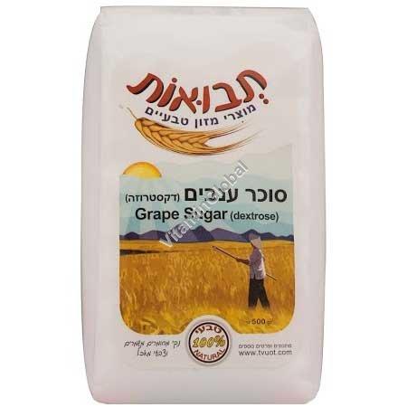Kosher Badatz Grape Sugar - Dextrose 500g - Tvuot