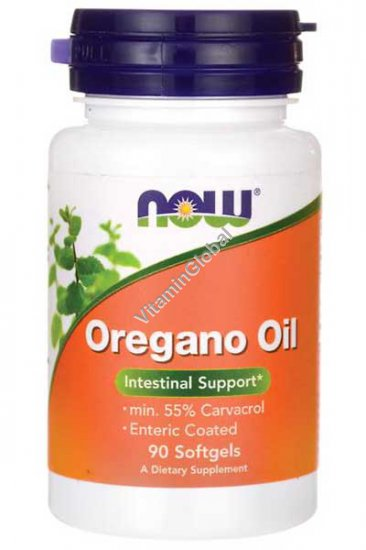 Oregano Oil 90 Softgels - Now Foods