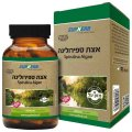 Kosher L'Mehadrin Spirulina Algae 600 mg 60 capsules - SupHerb