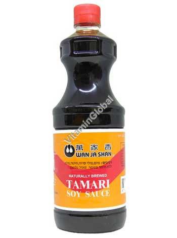 Kosher Naturally Brewed Tamari Soy Sauce 1L - Wan Ja Shan