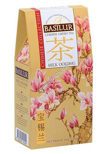 Chinese Green Tea Milk Oolong 100g - Basilur
