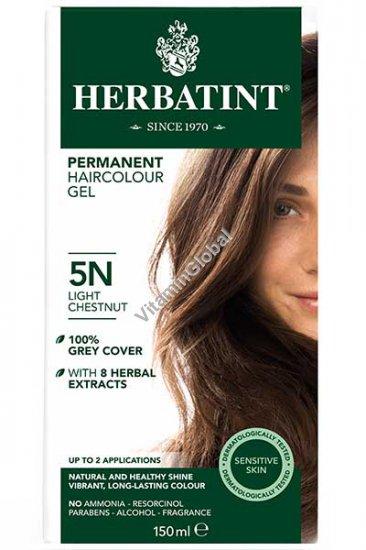 Permanent Haircolor Light Chestnut 5N - Herbatint