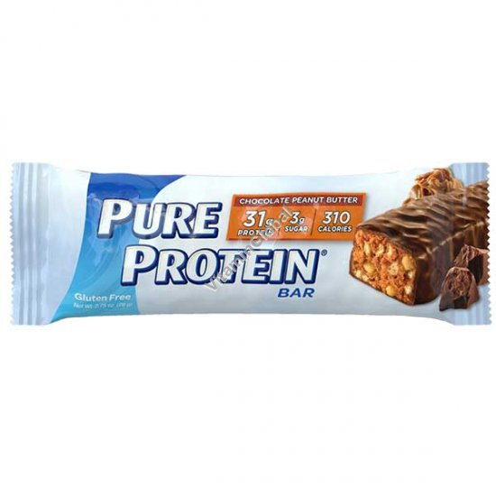 Chocolate Peanut Butter Pure Protein Bar 78g - Worldwide