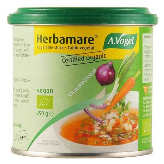 Vegetable Bouillon Concentrate 250g - A. Vogel