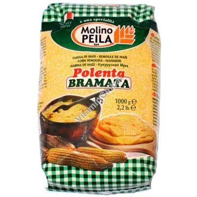 Gluten Free Corn Semolina (Polenta Bramata) 1kg - Molino Peila