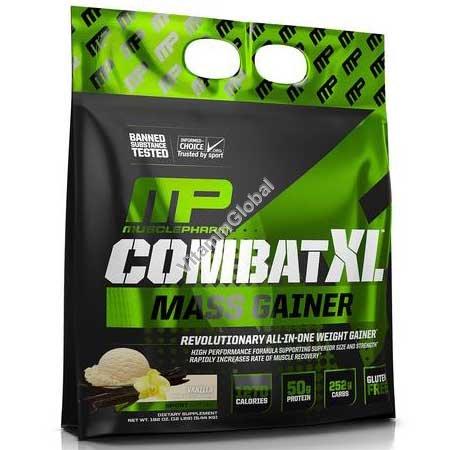 Combat XL Mass Gainer Vanilla Flavor 5.44kg - MusclePharm