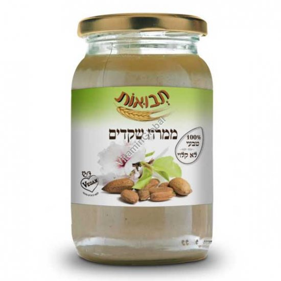Kosher Badatz Pure Almond Butter 300g - Tvuot