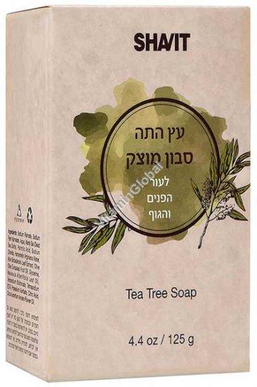 Tea Tree Soap Bar 125g 4.4 OZ) - Shavit