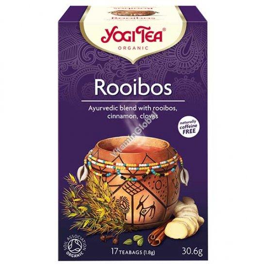 Rooibos Organic African Spice 17 teabags - Yogi Tea