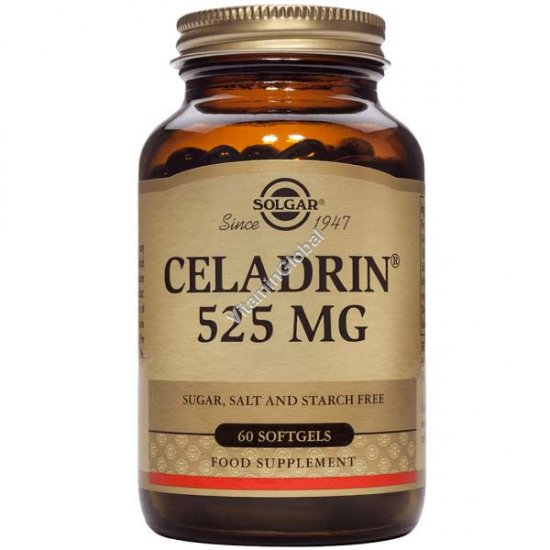 Celadrin 525 mg 60 Softgels - Solgar