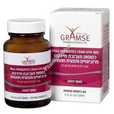 Mega Probiotics Cran-Gyn DDS 60 Vcaps - Gramse