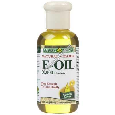 Liquid Vitamin E 74ml - Nature\'s Bounty