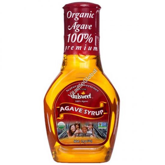 Organic Blue Agave Syrup 330g - Dulsweet