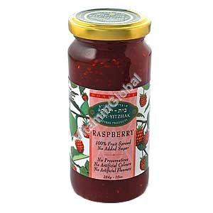 No Sugar Added Raspberry Jam 284g - Beit Yitzhak