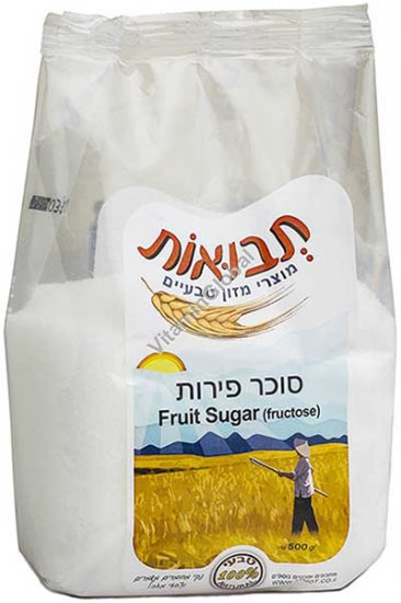 Fruit Sugar (Fructose) 500g - Tvuot