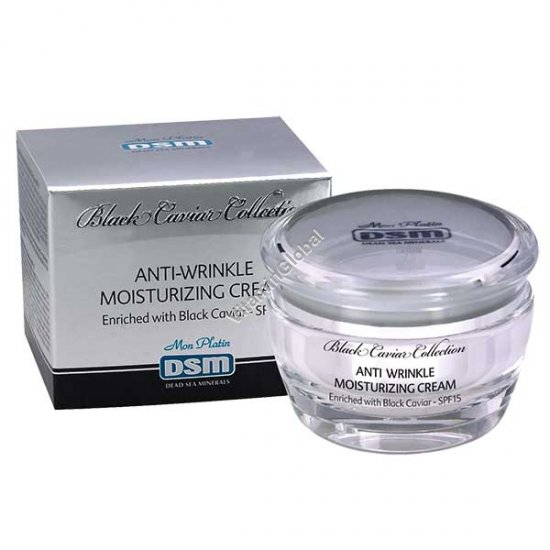 Anti-Wrinkle Moisturizing Cream Enriched With Black Caviar SPF15 (1.7 fl. oz) 50nl - Mon Platin