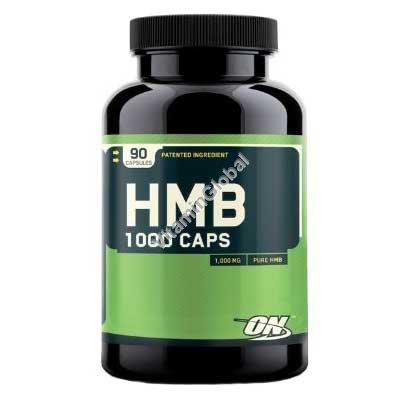 HMB 1000mg 90 Capsules - Optimum Nutrition