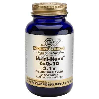 Nutri-Nano CoQ-10 3.1 x 50 caps - Solgar