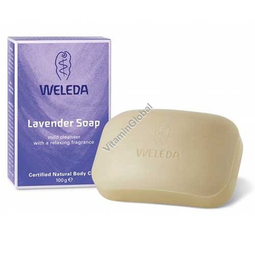 Natural Lavender Soap 100g - Weleda