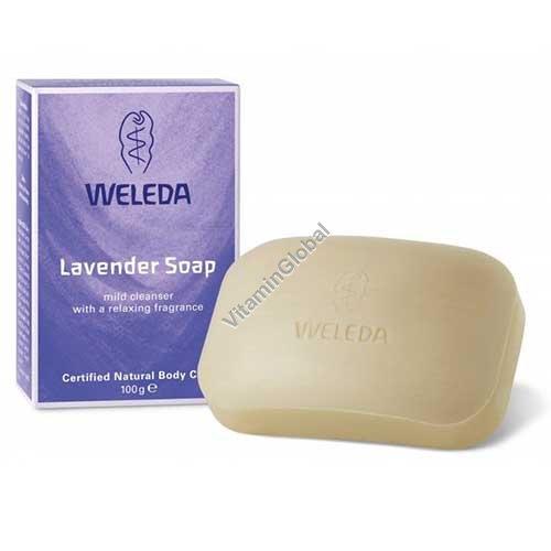 Natural Lavender Soap 100g - Weleda