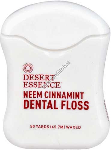 Neem CinnaMint Dental Floss 45.7 m - Desert Essence