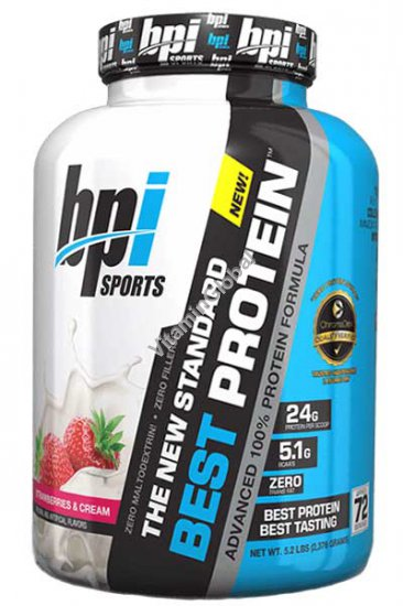 Best Protein Strawberries & Cream Flavor 2.376 grams - BPI Sports