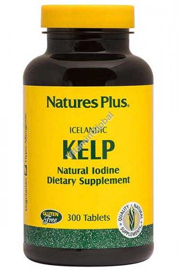 Icelandic Kelp 150 mcg 300 tablets - Nature\'s Plus